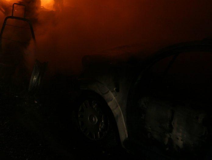 auto požar vatra