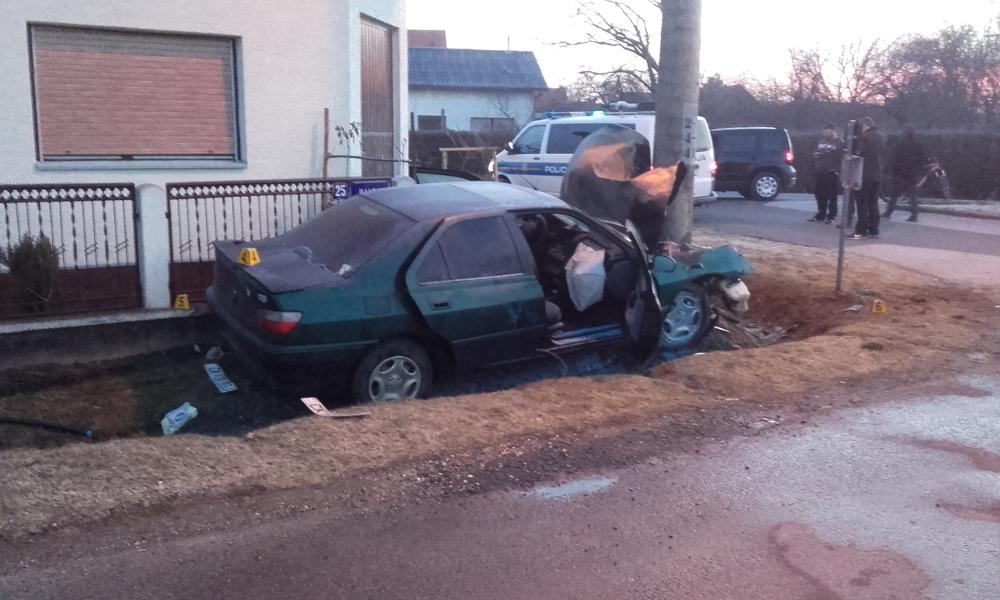 Prometna nesreća Sveta Marija