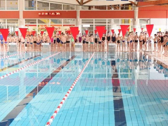 15. pojedinačno prvenstvo županije u plivanju