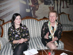 Tea Plaftak i Milena Miklavčič