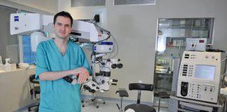 dr. Ante Barišić, voditelj Odsjeka za mrenu Klinike Svjetlost