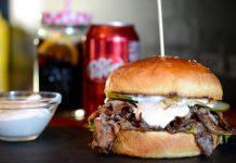 pit beef sandwich