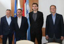 Mladen Križaić, Mladen Lacković, Valentino Škvorc i Vladimir Domjanić
