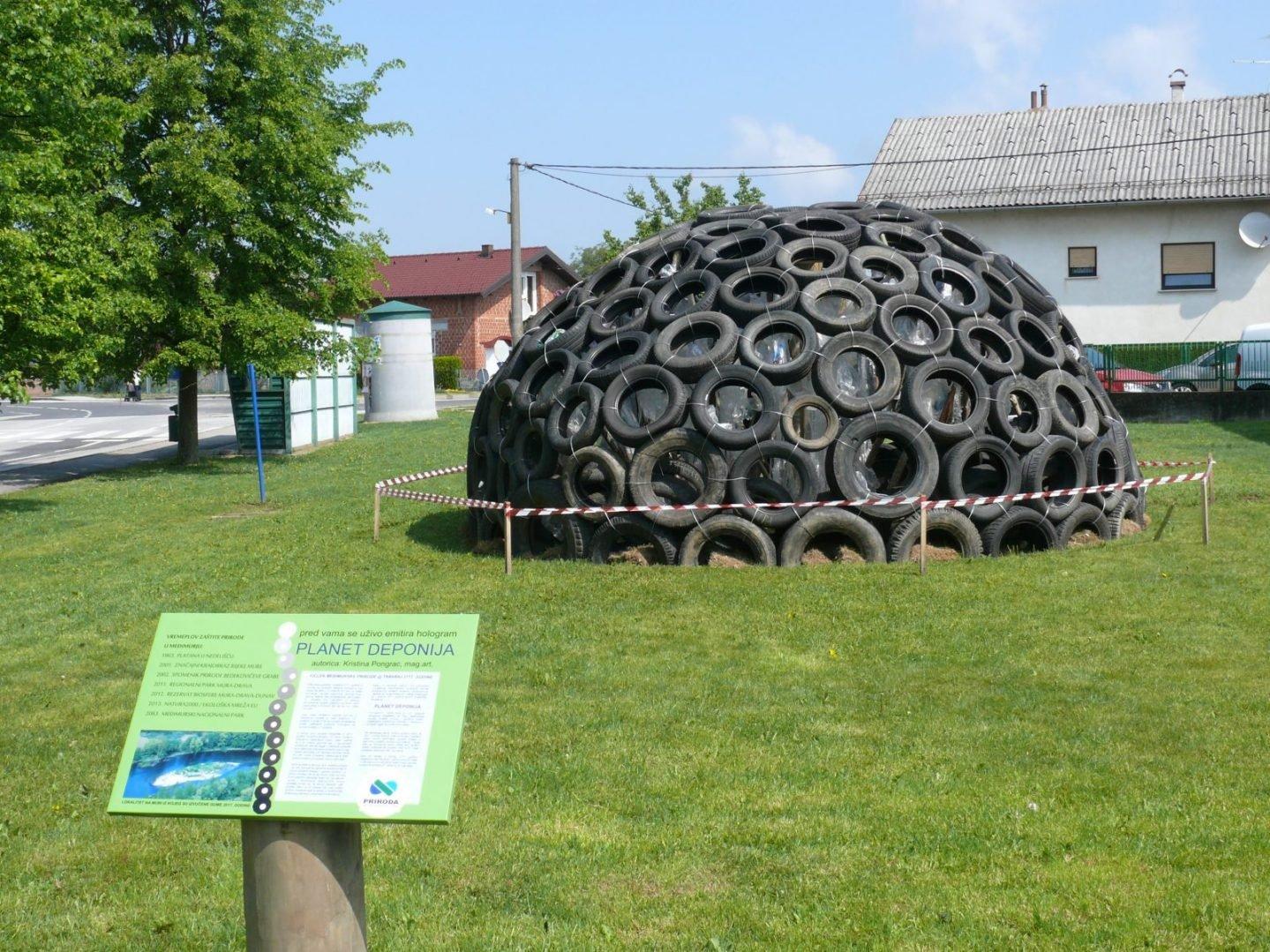 Instalacija Planeta Deponija Križovec