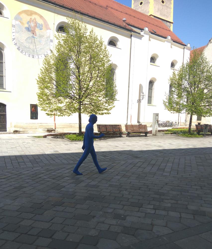 Plavi čovjek Varaždin