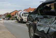 Prometna Mala Subotica kamion mješalica
