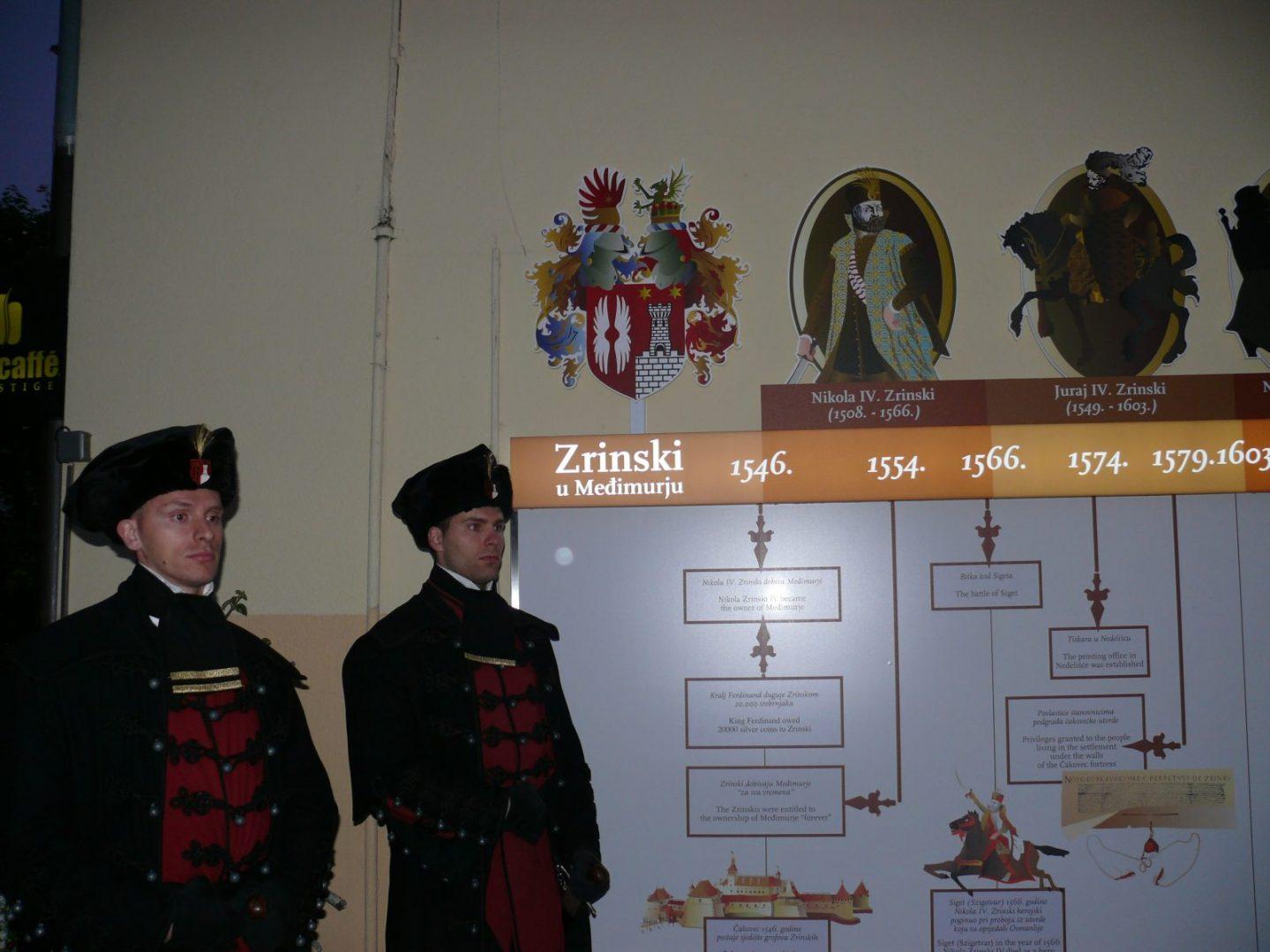 instalacija Obiteljsko stablo Zrinskih