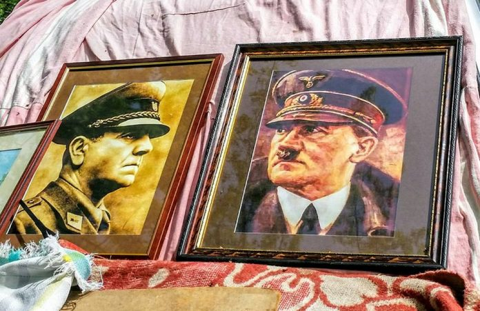 Ante Pavelić Adolf Hitler portreti sajam Čakovec