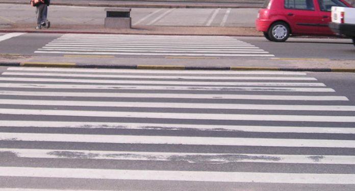 zebra pješački prijelaz