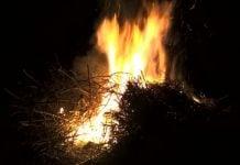 vuzmenka vatra požar