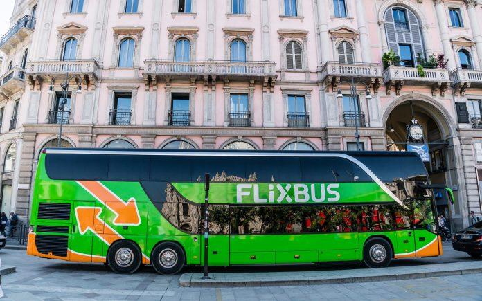 FlixBus u Milanu
