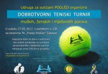 """Udruga za autizam """"Pogled"""" teniski turnir"""