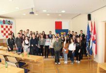 Srednja škola Čakovec posjet Međimurska županija
