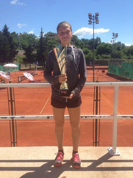Antonia Ružić, državna prvakinja u tenisu
