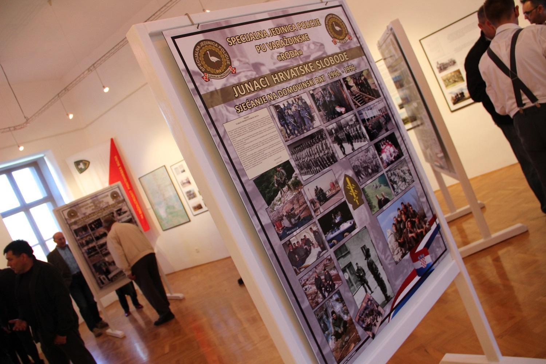 izložba Junaci hrvatske slobode 1990.-1996.