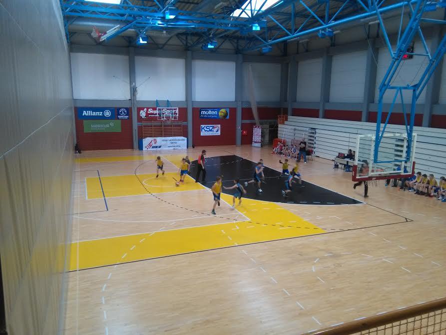 Utakmica za 5. mjesto na PH u mini košarci Vrijednosnice Osijek - Čakovec