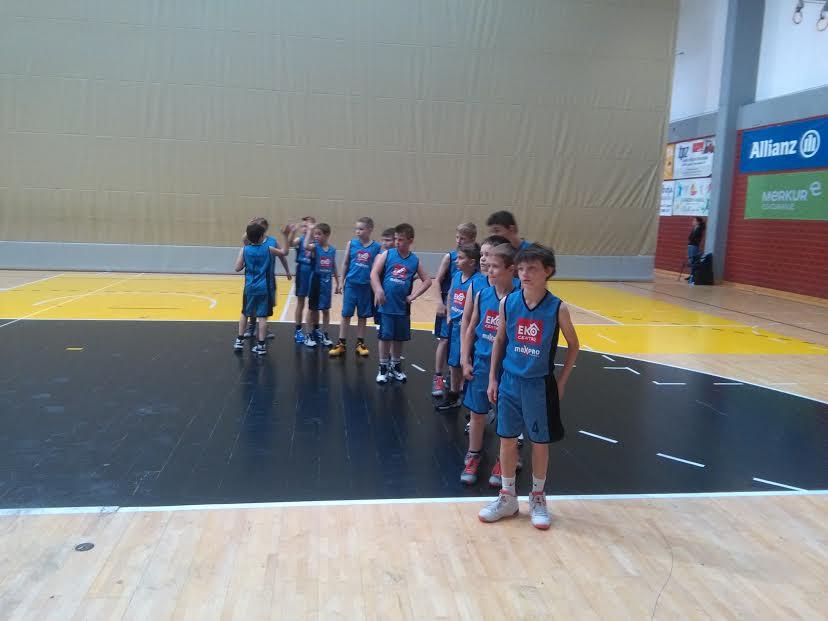 Mali košarkaši Čakovca U11 na državnom prvenstvu u Zagrebu
