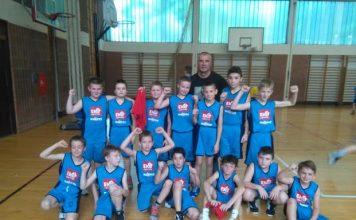 Ekipa U11 Čakovca u mini košarci koja je nastupila na državnom prvenstvu u Zagrebu