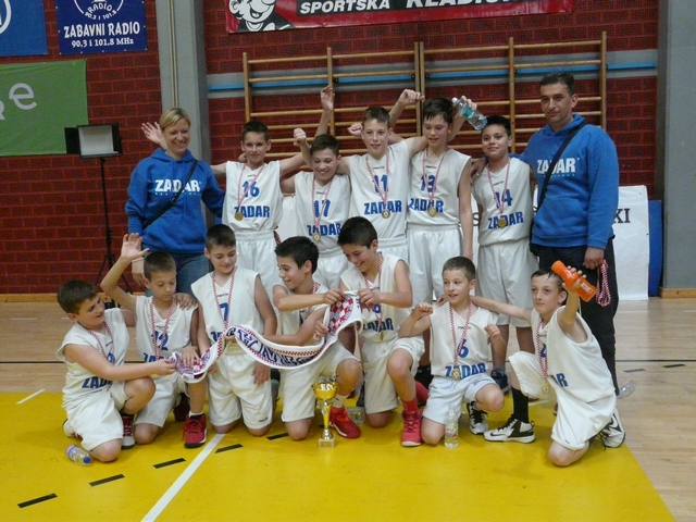 Državni prvaci u mini košarci 2017. KK Zadar
