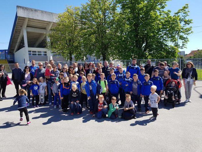 Sportski izlet u Zagreb NŠ NK Sloga Čakovec