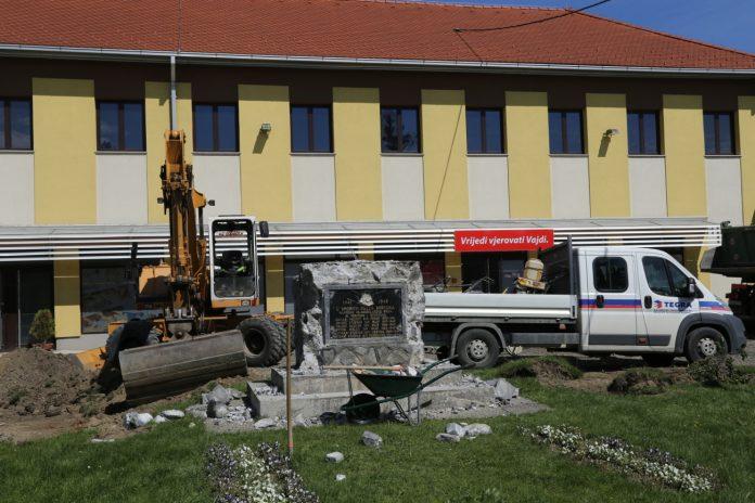 spomenik borcima NOB Mala Subotica