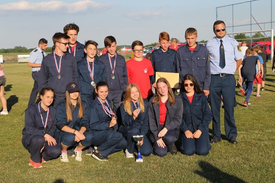 Županijsko natjecanje vatrogasne mladeži u Domašincu