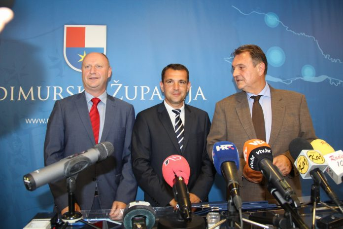 Kolar Posavec Čačić projekt Sjever Hrvatske