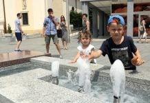 fontana ljeto Čakovec
