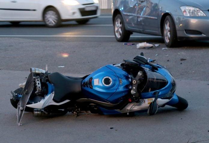 motor nesreća