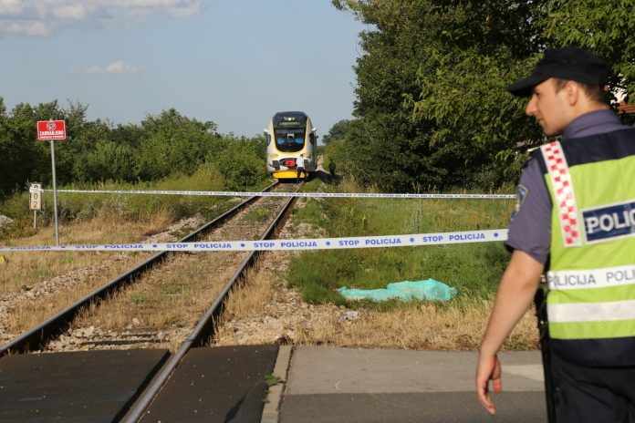 vlak Buzovec poginula žena