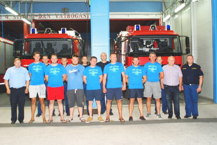 Međimurski vatrogasci požar Dalmacija povratak
