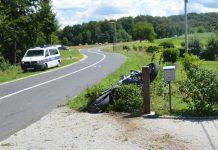 Prekopa prometna nesreća motorist