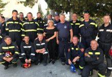Sunčana Glavak vatrogasci Split