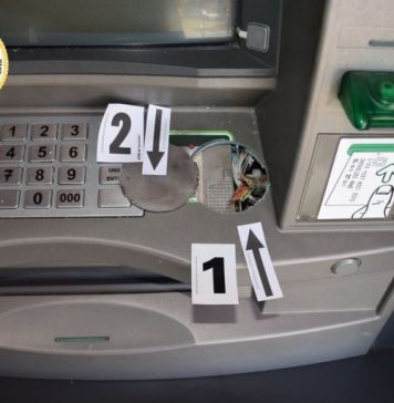bankomat orobljen