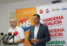 Mladen Novak (SDP) i Matija Posavec (HNS)