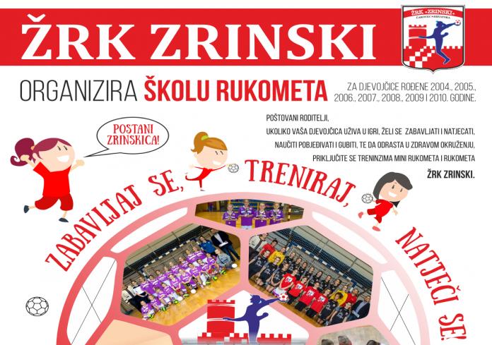 ŽRK Zrinski škola rukometa