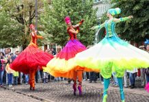Ballerinas Špancirfest