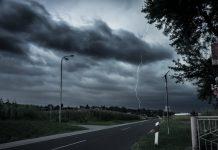 Olujni oblaci između Zebanec Sela i Selnice