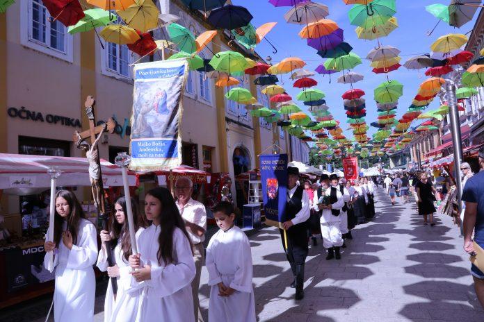 Porcijunkulovo procesija