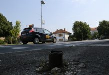 Ulica Tome Masaryika Čakovec znak