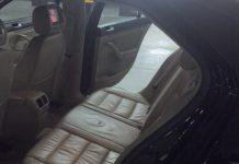 auto unutrašnjost sjedala