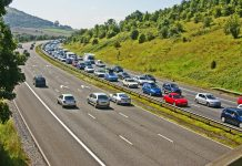 autocesta gužva