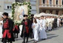 procesija porcijunkulovo
