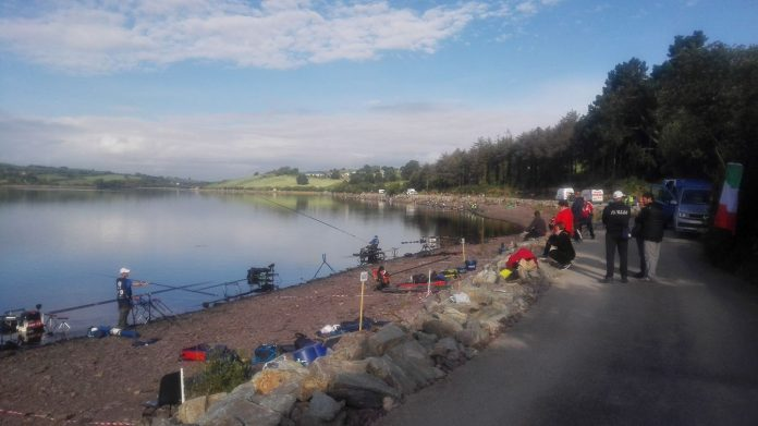 Jezero Inniscarra u Irskoj - SP u sportskom ribolovu