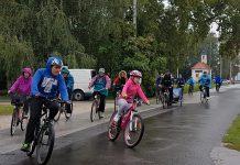 Unatoč kiši i najmlađi biciklisti uputili su se na utrku