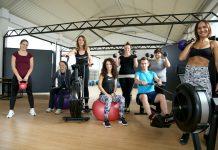 Trenerica Ivana Posavec i marljivi vježbači