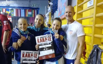Karate centar Šenkovec Budapestopen