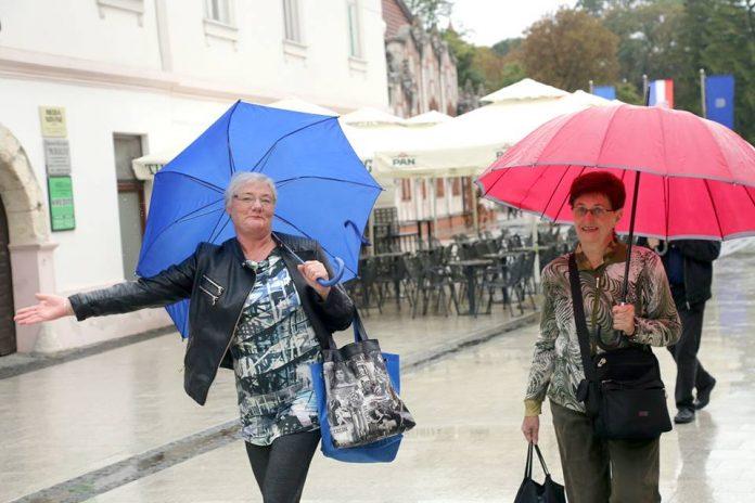 Kiša kišobran Čakovec