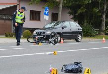 Prometna nesreća biciklistica Koprivnica