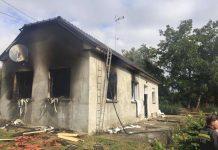Zapaljena kuća Virje